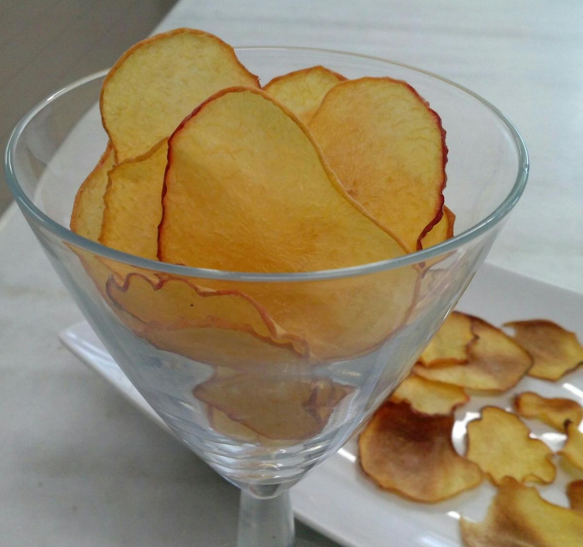 Chips de melocotón