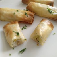 Rollitos de puerro y queso #juegodeblogueros2.0